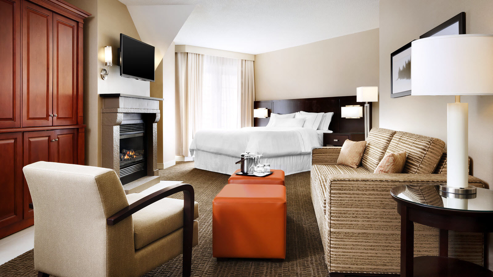 Deluxe Guest Room | Le Westin Resort & Spa, Tremblant, Quebec