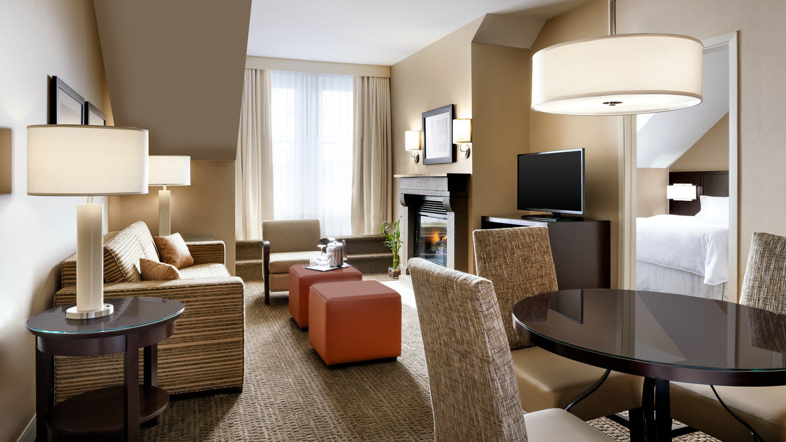 One-Bedroom Suite, 1 King Bed | Le Westin Resort & Spa, Tremblant, Quebec