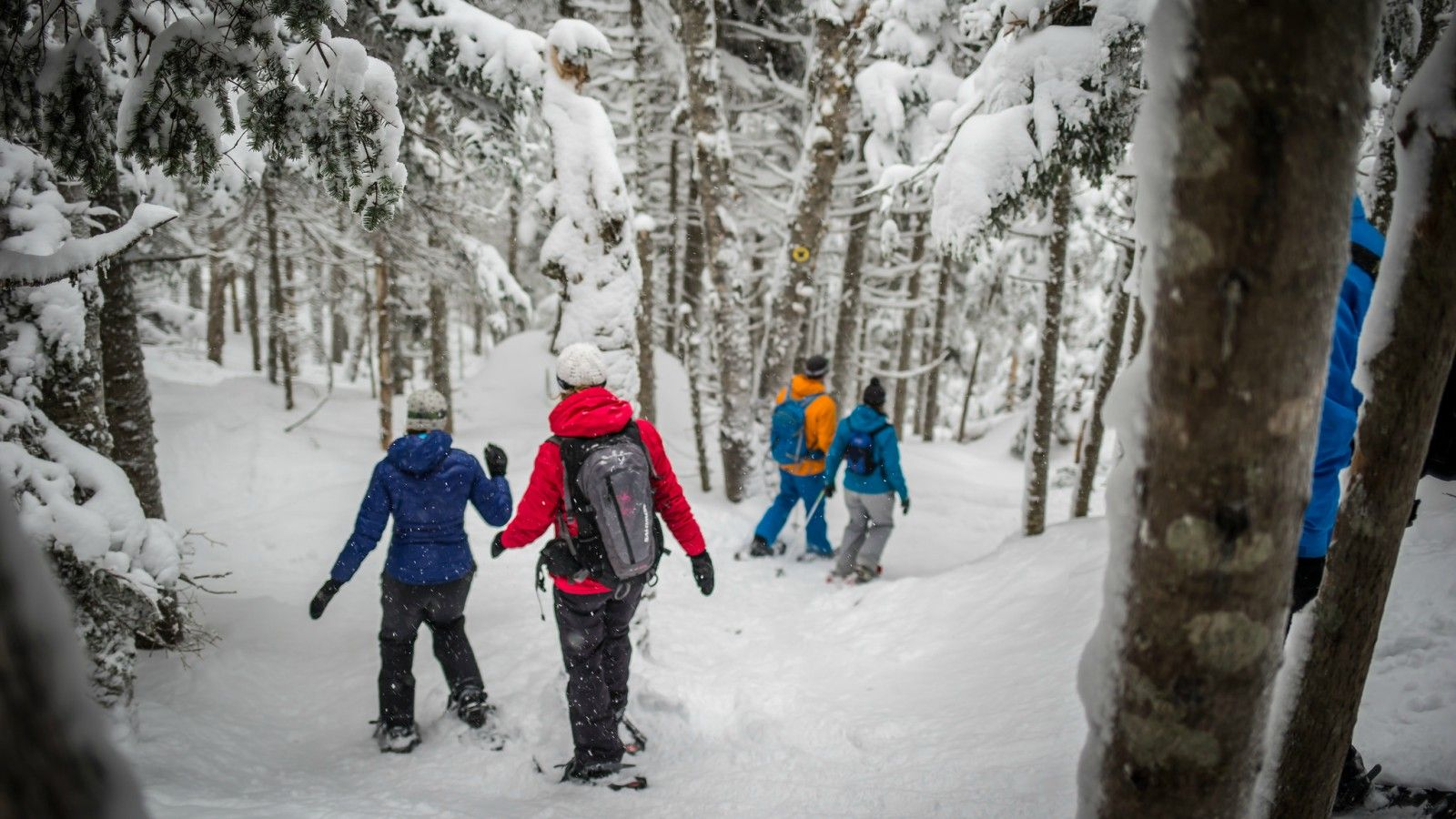 Things to do at Tremblant - Snowshoeing
