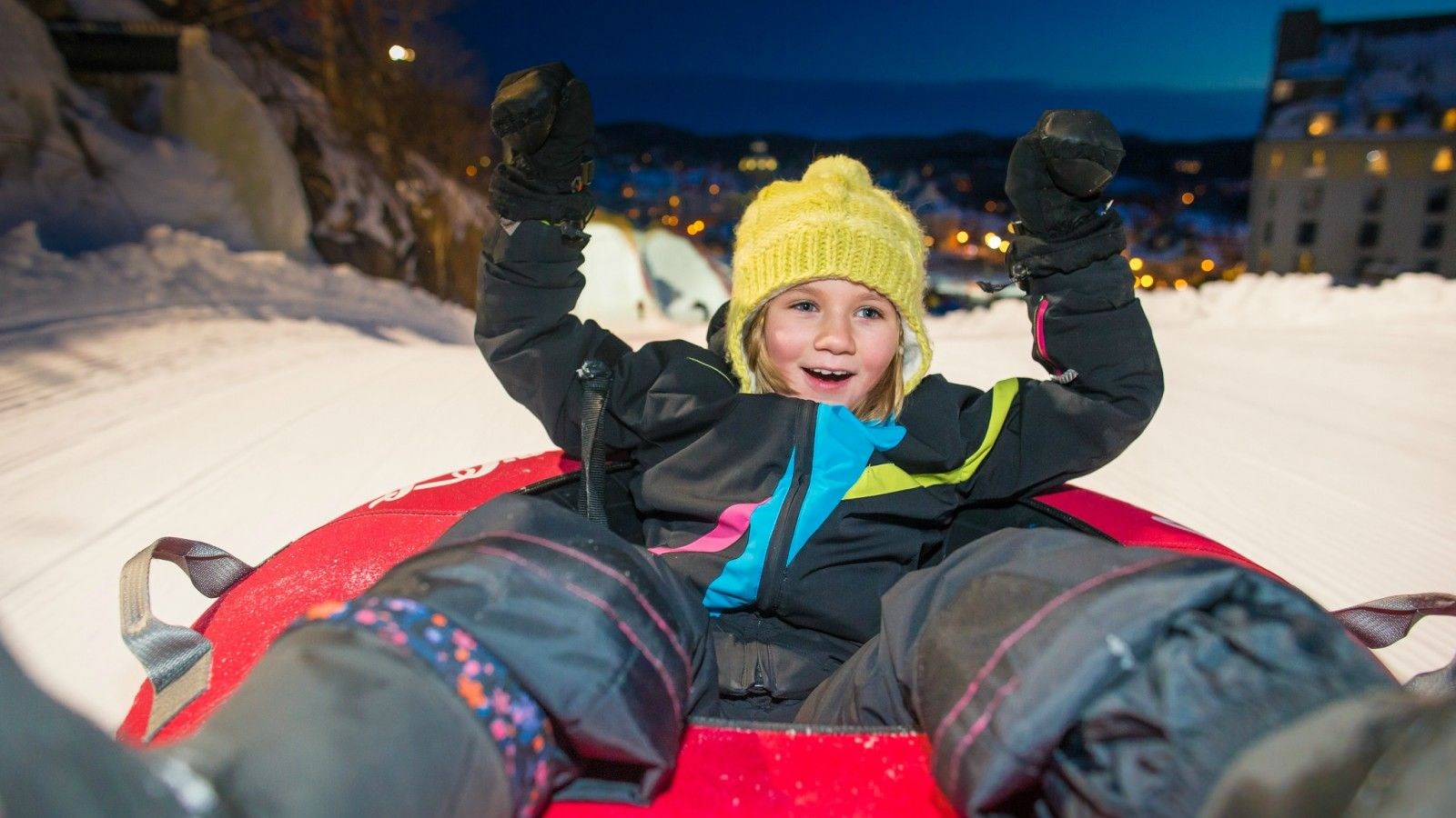 Things to do at Tremblant - Tubing