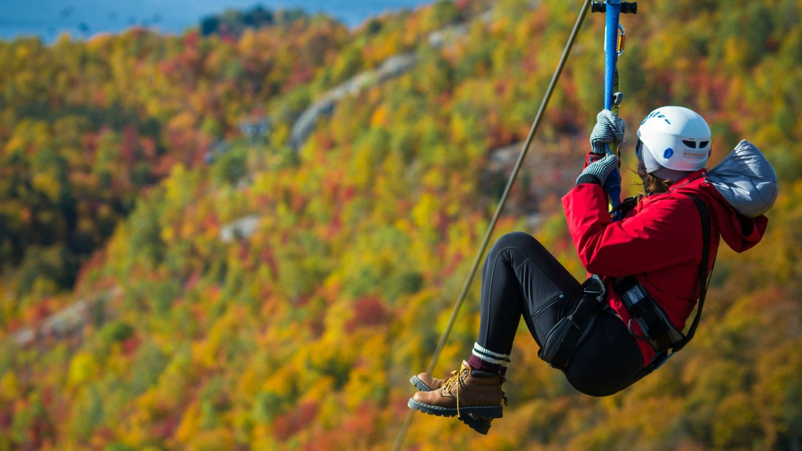 Things to do at Tremblant - Zipline
