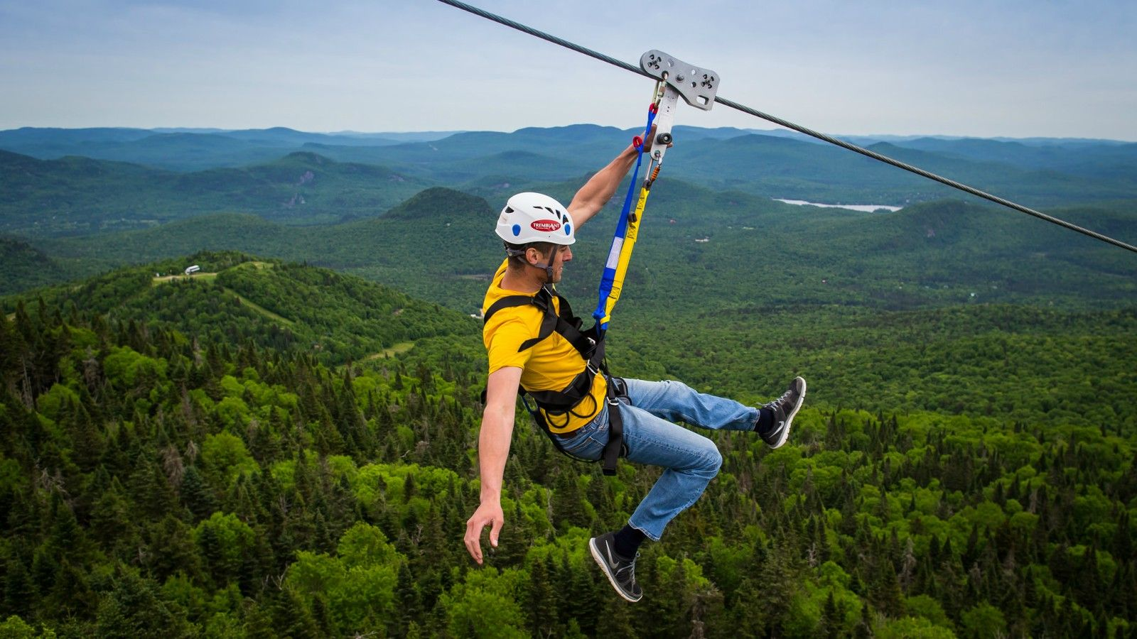 Things to do at Tremblant - Zip Line